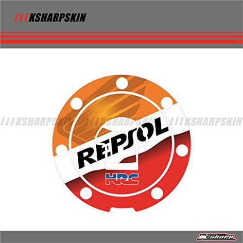 Motorcycle 3D Sticker Decal Emblem Protection Tank Cap Pad for Honda CBR VFR CB NSR VTR CBF CBX 125 250 400 600 900 1000 CBR1100XX X-1 (Type B)
