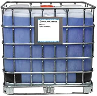 Glass Cleaner, Light Blue, Tote, 270 gal.