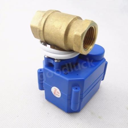 HuoPu Válvula eléctrica motorizada de bola DN20 G3/4