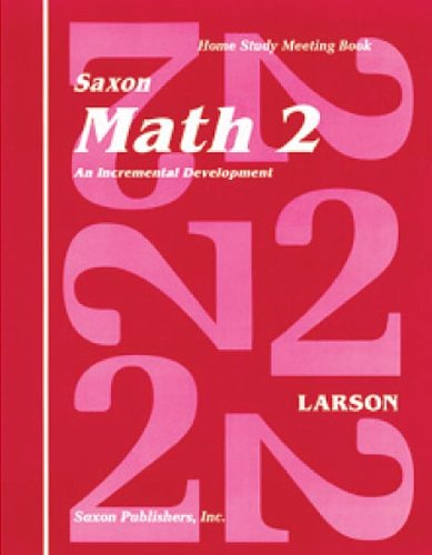 Saxon Math 2 Homeschool: Complete Kit 1st Edition