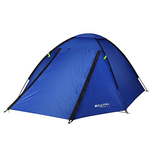 Eurohike Tamar Quick Pitch Super Light 3 Person Tent, Blue, One Size
