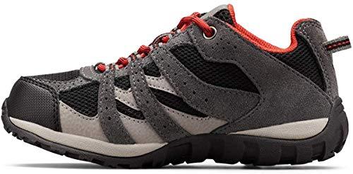 Chaussures imperméables Columbia pour enfant Redmond, Black, Flame, 39