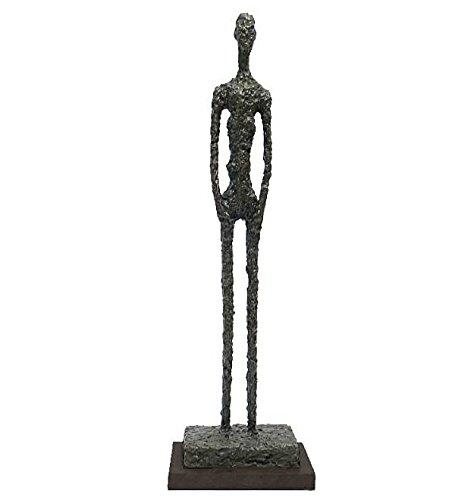 augustandmarch Bronzeskulptur Skulptur Großer Mann Large Man Figur Limitierte Auflage Modern Art Bronze Skulptur im Stil der 60iger Jahre nach Richier, Giacometti
