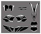 Wjyfexble Motorycle Team Graphics Calcomanías Pegatinas para KTM 125 144 150 200 250 350 400 450 505 530 SX SXF XC XCW EXC XCRW SMR 2008-2011 WYJHN