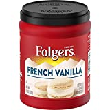 PACK OF 6 - Folgers Ground Coffee French Vanilla, 11.5 OZ