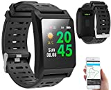 newgen medicals GPS Sportuhr: Fitness-GPS-Armbanduhr