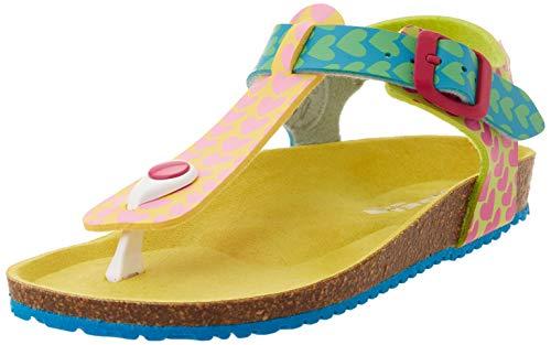 Agatha Ruiz De La Prada Mädchen 212965-A Sandale, Multicolor (Mat Y Estampado), 27 EU