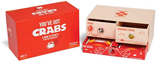 Exploding Kittens CRABS-CORE You've Got Crabs: A Card Game From the Creators of Exploding Kittens