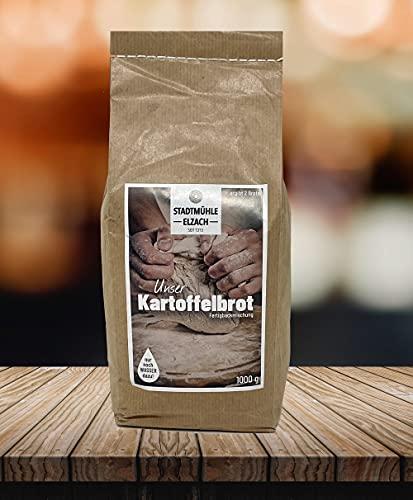 Stadtmühle Elzach Fertig - Backmischung Schwarzwald Kartoffelbrot 1,0 KG