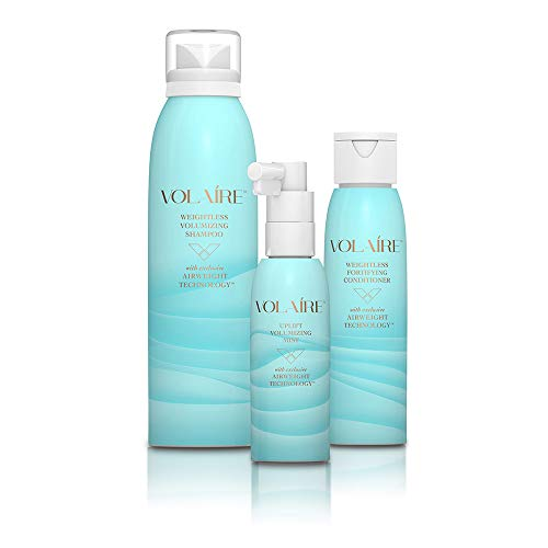Intro size- Volumizing Hair System – Shampoo, Conditioner and Volumizing Mist – Add Volume, Bounce, Body, Lift, Sulfate Free | Paraben Free | Colored Treated (Intro)