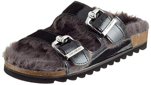 Tom Tailor 5893402, Zapatillas de Estar por casa Mujer, Gris (Dkgrey 01483), 37 EU