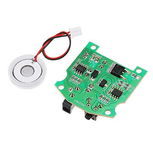 ILS - 20 millimetri 113KHz umidificatore ad ultrasuoni creatore foschia USB ceramica atomizzatore trasduttore Piastra umidificata accessori + Modulo PCB D20mm