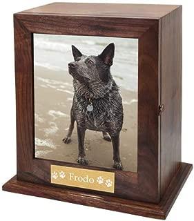 Memorial Gallery Custom Wood Personalized Engraved Pet Urn