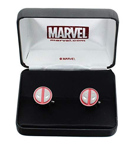 Diverse Marvel Deadpool Logo Cufflinks/Manschettenknöpfe