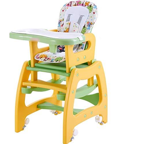 BLWX- Kinderstoel Booster Seat Children's Eetstoel Baby Eetstoel Eten Tafel Verwijderbare Baby Eetstoel Variabele schommelstoel Kindereetkamerstoel
