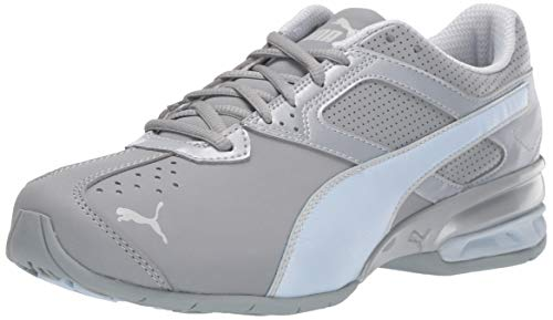 PUMA Women's Tazon 6 Sneaker, Quarry-Heather, 8.5 M US