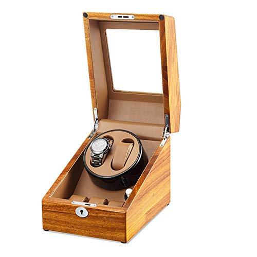Oksmsa Automático Watch Winder Box for 2+3 Cajas Giratorias for Relojes, Motores Silenciosos Y 5 Modos De Rotación por C.A. Adaptador O Batería, Reloj Giratorio (Color : C)