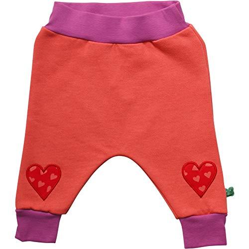 Fred'S World By Green Cotton Heart Sweat Pants Pantalon, Orange (Warm Coral 018164901), 92 Bébé Fille