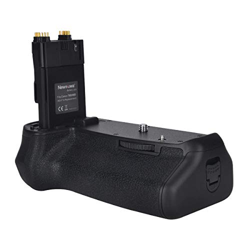 Newmowa Mango de Repuesto Battery Grip para Canon EOS 70D/80D Cámara réflex Digital