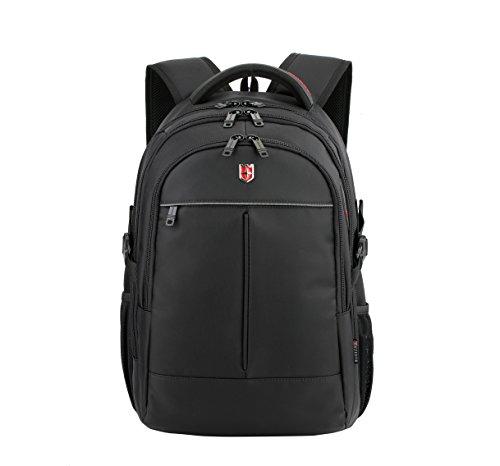 Ruigor ICON 87 - grote multifunctionele rugzak dagrugzak 30 l waterdichte laptoptas 15 inch zwarte sportrugzak voor dames en heren RG6187