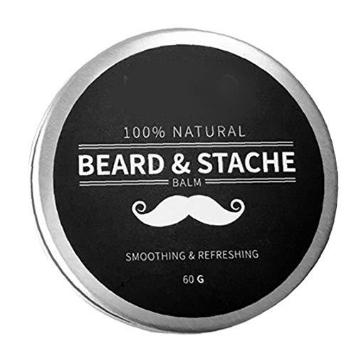 Hotaden Beard Balsam für Männer Wachstum Wachs Butter Styling Enthärter Conditioner Befeuchten Natural Ingredients