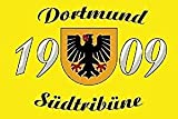 UB Fahne/Flagge Dortmund Südtribüne 90 cm x 150 cm Neuware!!!