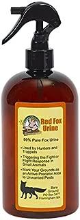 Just Scentsational FU-16TR Red Fox Urine Small Pest Repellent Trigger Sprayer, 16 oz