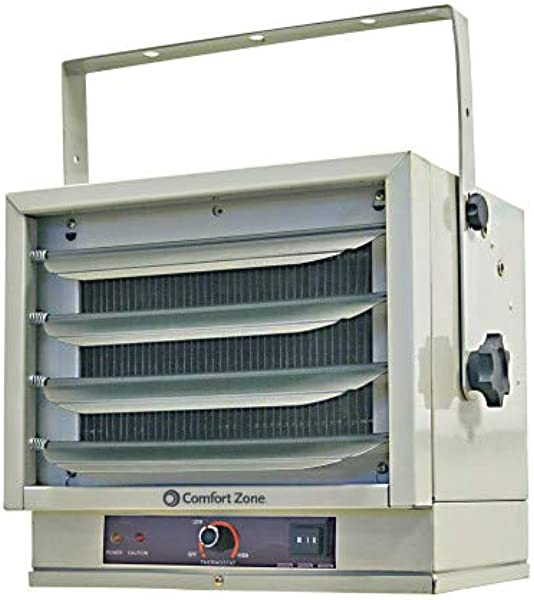 Comfort Zone CZ220 Fan Forced Ceiling Mount Heater With Dual Knob Controls