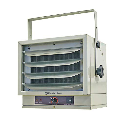 Comfort Zone CZ220 5,000W, Fan-Forced Ceiling Mount Heater with Dual Knob Controls
