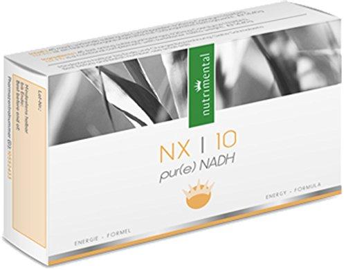 NADH NX10 - Coenzym 1 - Energie für Körper & Geist - 45 Lutschpastillen - 20 mg reines NADH
