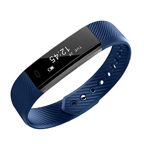 Hartslag Waterdichte Bluetooth-camera Slimme armband Sport-stappenteller Fitness Bloeddruk Calorieën Polsband