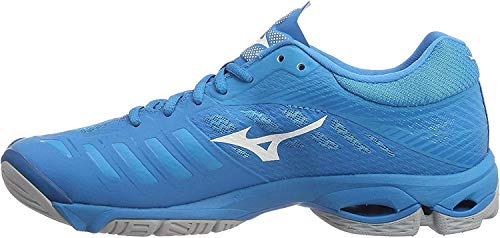 Mizuno Wave Lightning Z4, Zapatillas Hombre, Azul (Bjewel/Wht/Hocean 001), 50 EU