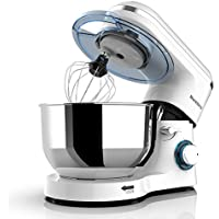 Nurxiovo 6-Speed Electric Mixer with Dough Hook Whisk Beater