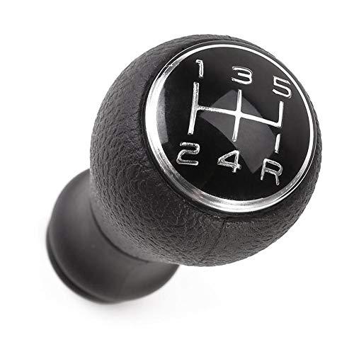 Wonderday - Pomo de palanca de cambios manual de 5 velocidades para Citroën C1...