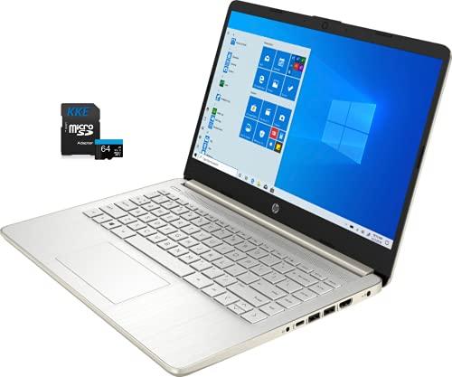 HP Laptop, 14' HD Screen, Intel Celeron N4020 Processor, 4GB DDR4 Memory, 64GB eMMC, Webcam, WiFi,...
