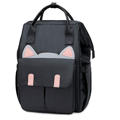 "YAUNGEL School Waterproof Backpack 14.9"" College Travel Bag for Men Women,14 inch Laptop for Student"