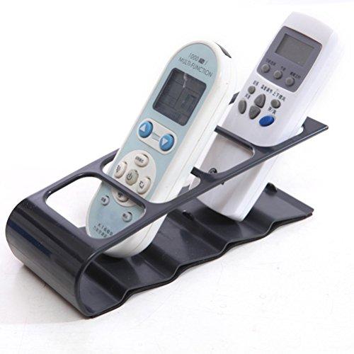 bestonzon soporte para mando a distancia porte-télécommande caja de almacenamiento de metal (negro)