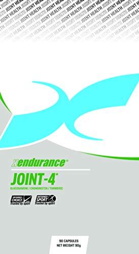 Xendurance Wellness Joint-4, Glucosamine, Chondroitine, Kurkuma, MSM, Vitamine C, Vitamine D, 90 Capsules, goed voor 30 dagen