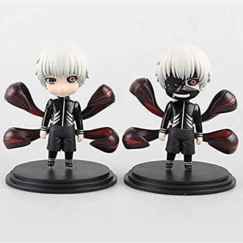 Anime Figure Tokyo Ghoul Action Figure Ken Kaneki/Yes Sasaki Suits 11cm Nendoroid Figurine Collection Decorations Model Kids Toys Doll Gift