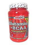 Amix - Glutamina + Bcaa - Suplemento Alimenticio - Mejora del Rendimiento - Contiene Aminoácidos Bcaa - Glutamina en Polvo - Nutrición Deportiva - Sabor a Natural - Bote de 1 Kg