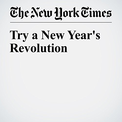 Try a New Year's Revolution                   By:                                                                                                                                 Jennifer Weiner                               Narrated by:                                                                                                                                 Barbara Benjamin-Creel                      Length: 7 mins     Not rated yet     Overall 0.0