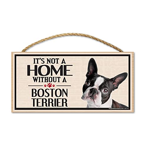 Imagine This Wood Sign for Boston Terrier Dog Breeds