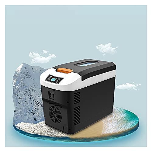 LT&NT Car Refrigerator for Travel 12v Mini Skincare Fridge Refrigerator Digital Display Car Refrigerator Refrigerator Portable Refrigerator for Skin Care, Cosmetics, Food Drink