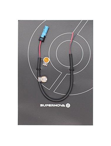 Super Nova Supernova aansluitkabel voor volwassenen, uniseks, voor koplampen aan Bosch, zwart