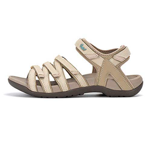 Viakix Womens Hiking Sandal – Comfortable Athletic Stylish Sport Shoes, with Arch Support, for...
