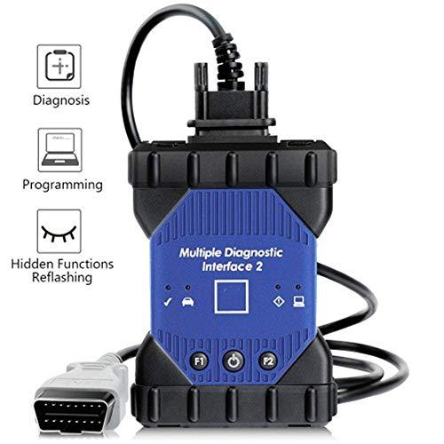 WYYHAA Drahtlose OBD2 / OBDII Diagnosegerät Scanner & Werkzeug, Multiplexer Diagnose Interfac Unterstützung Diagnose Programmierung Und Flashen Ohne Software