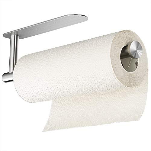 small Taozun Self-Adhesive Tape Paper Towel Holder – Paper Towel Holder Under Cabinet, SUS304…