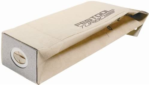 lowest Festool 489128 Turbo Dust Bag wholesale 2021 For DTS 400, RTS 400 And ETS 125 Sanders, 5-Pack online sale