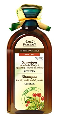 Green Pharmacy Kräuter Shampoo Ginseng Fettiges Haar 0% Parabenen 350ml