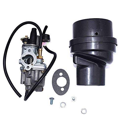 13200-04410 LT50 Karbay Carburetor & Air Filter Box Assembly For SUZUKI LT50 LT 50 JR50 LT-A50 Quadrunner Carb 1978-1982 1984-2006